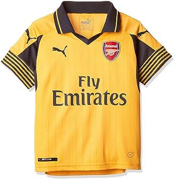 Puma Chico del Arsenal Away 16-17 réplica Camiseta de fútbol: Amazon.es: Deportes y aire libre