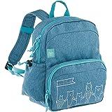 Lässig Medium Backpack About Friends mélange Kinder-Rucksack, 30 cm, Blue