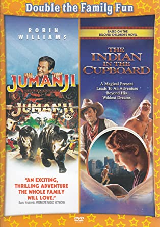 Amazon Com Jumanji The Indian In The Cupboard Double Feature