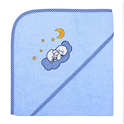 Betz infantil con capucha toalla 100% algodón tamaños 80 x 80 cm & 100 X