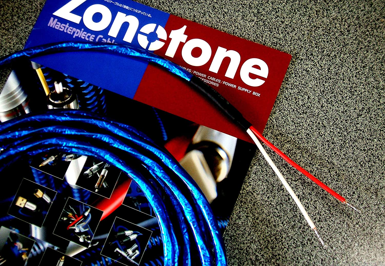 Zonotone.6NSP-Granster 2200α 6N・2芯スピーカーケーブル(端末処理済みカスタム品) (5.0mペア)