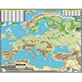 GMT: Mounted Map Kit for Unconditional Surrender Board Game