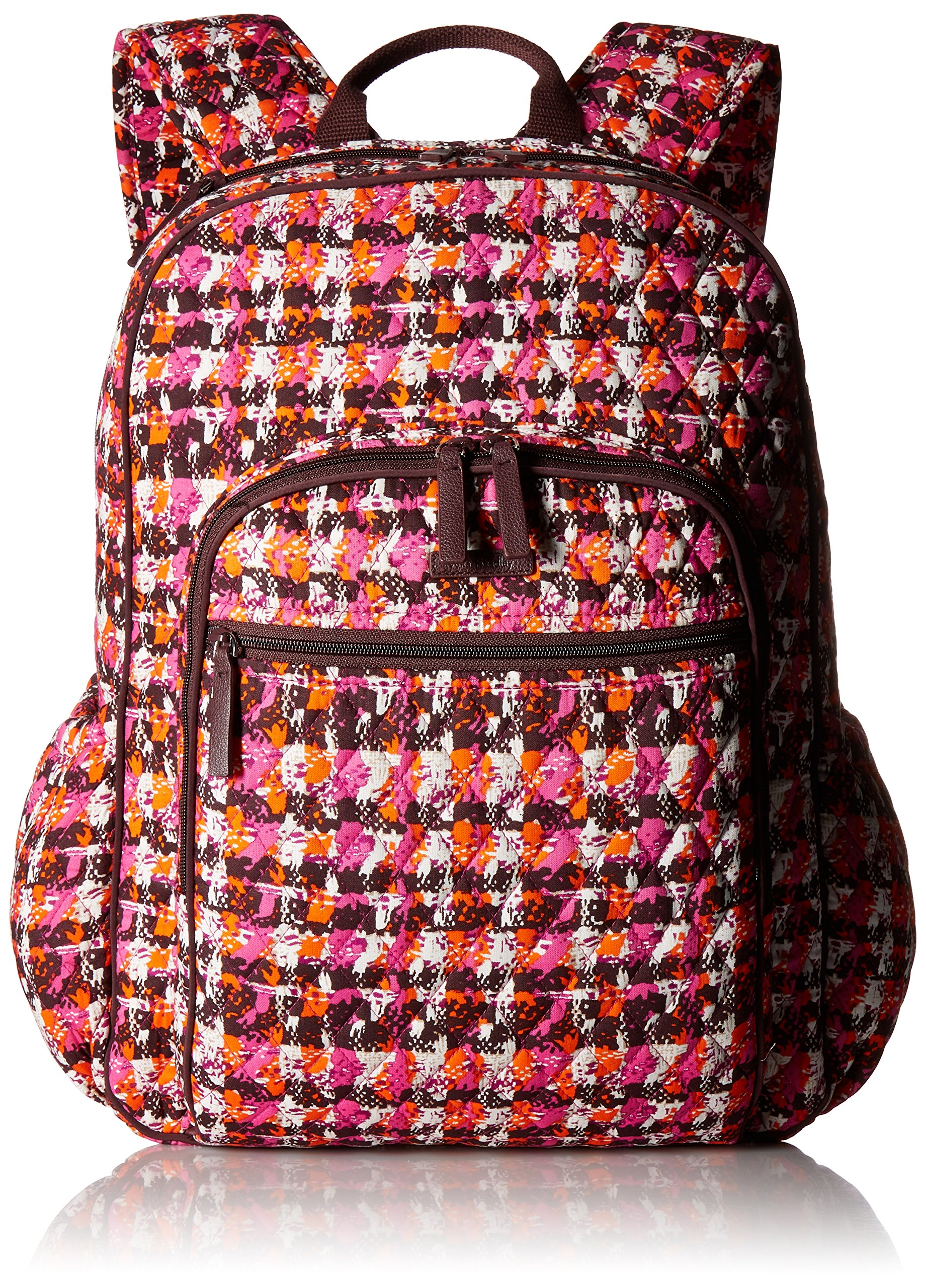 Women's Campus Tech Backpack, Signature Cotton, Houndstooth Tweed
