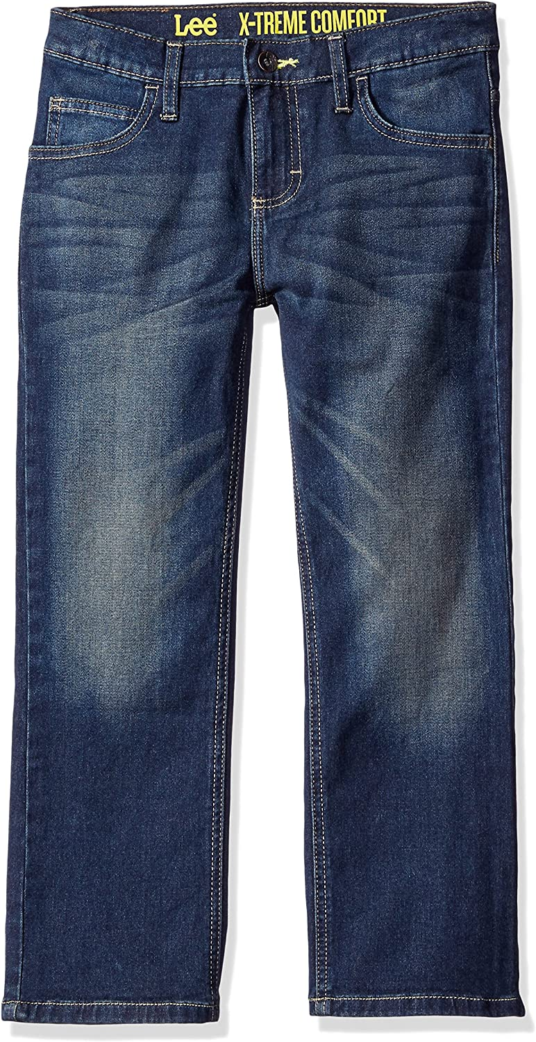Lee Boys Sport Straight Fit Knit Jeans