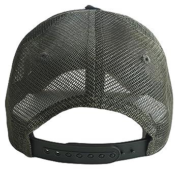 Sacred Om Symbol Mid Profile Mesh Trucker Cap(Camouflage, One Size)