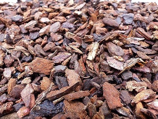 Corteza de pino Pino borke 8 – 15 mm, Mediterráneas corteza en Premuim Calidad, pino, borke, 20L: Amazon.es: Jardín