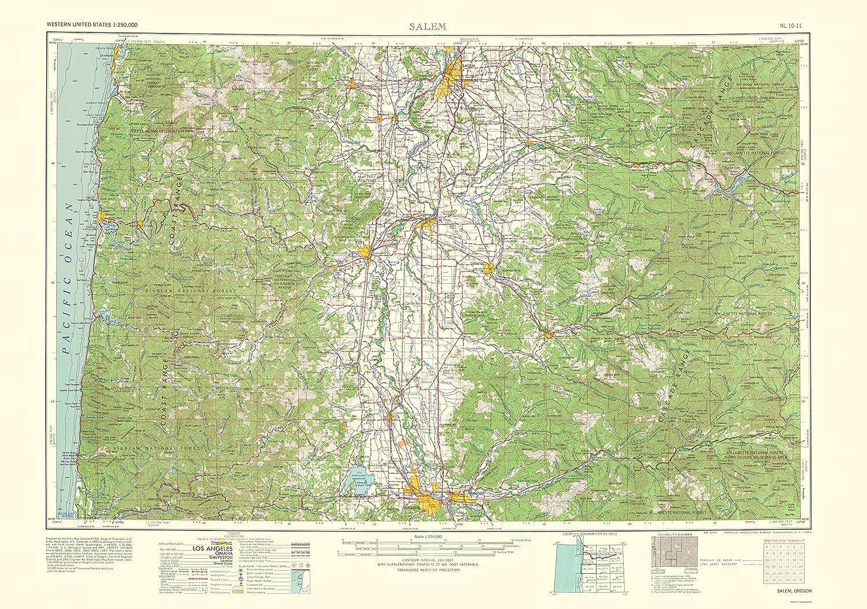 Amazon.com: MAPS OF THE PAST Salem Oregon Quad - USGS 1963 ... on medford oregon map, oregon wine willamette valley map, oregon state map, grants pass oregon map, coos bay oregon map, hanford oregon map, graniteville oregon map, detroit oregon map, village of oregon map, la salle oregon map, redmond oregon map, aumsville oregon map, willamette university oregon map, eugene oregon map, salem or, woodburn oregon map, salem ma, oregon county map, dexter oregon map, mount hood oregon map,