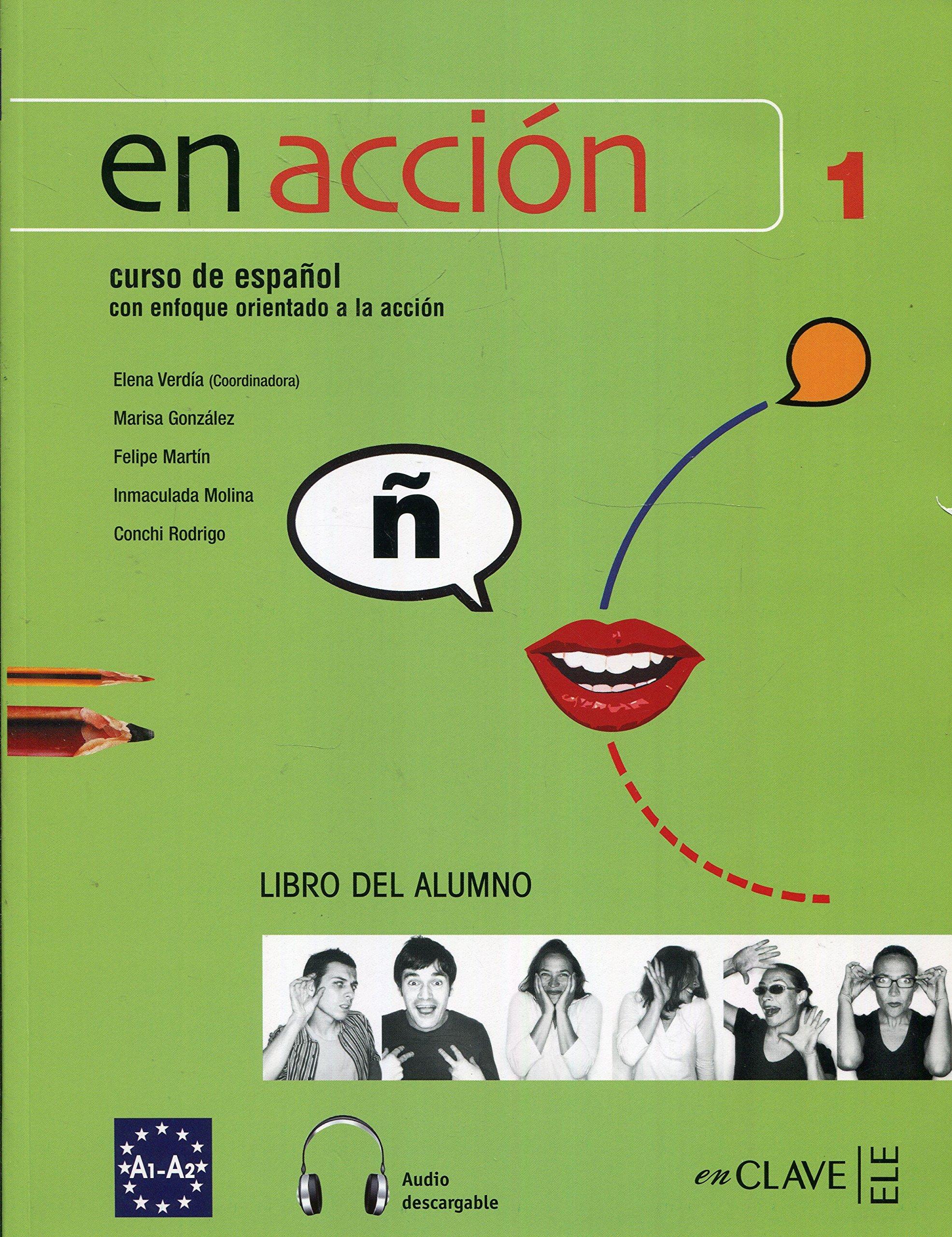 En Accion: Libro Del Alumno A1 + CD-Audio MP3 (Spanish ...