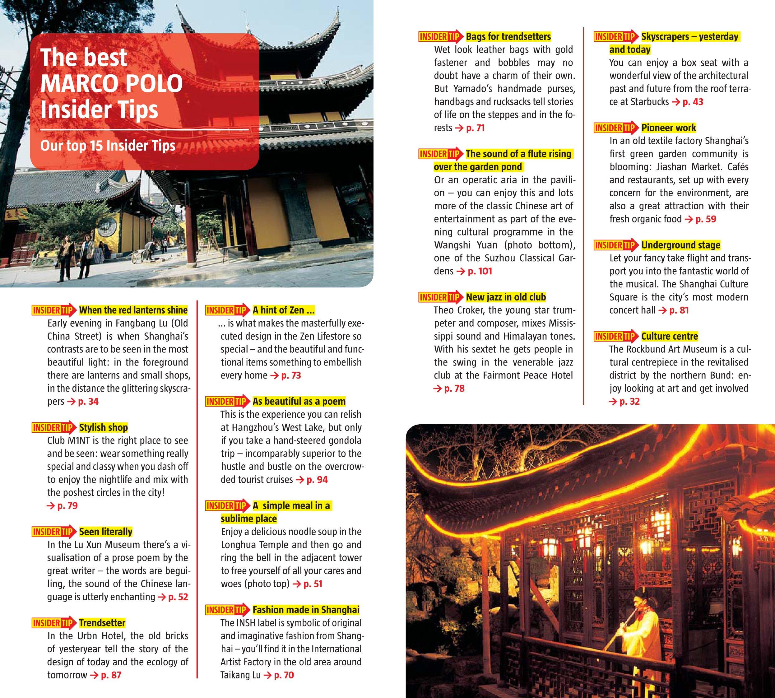 Marco Polo Shanghai Marco Polo Shanghai Travel Guide Amazon De