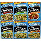 Starkist Tuna Creations Variety Pack, 2.6-Ounce Pouch, 6 Flavors, 1 Pouch of Each Flavor, 6 Pouches Total