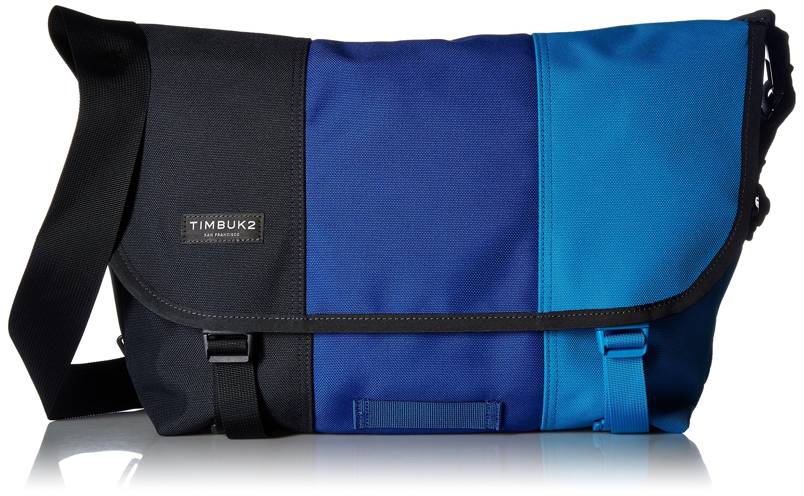 Timbuk2 Classic Tres Colores Messenger Bag, Lagoon, Medium
