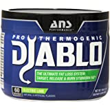 ANS Performance Pro Thermogenic Diablo, Fat Burner for Weight Loss and Targeting Stubborn Fat, Electric Lime, 60 Servings