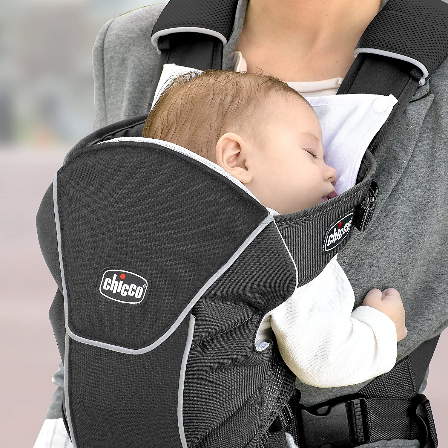 Black Infant Chicco Ultrasoft Magic Carrier Soft Carriers Baby prb ...