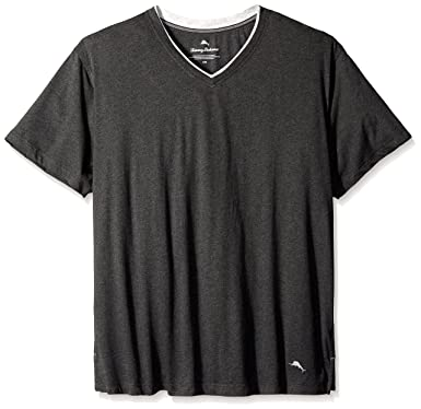 2583c45a8 Tommy Bahama Men's Big & Tall Cotton Modal V-Neck Short Sleeve T-Shirt