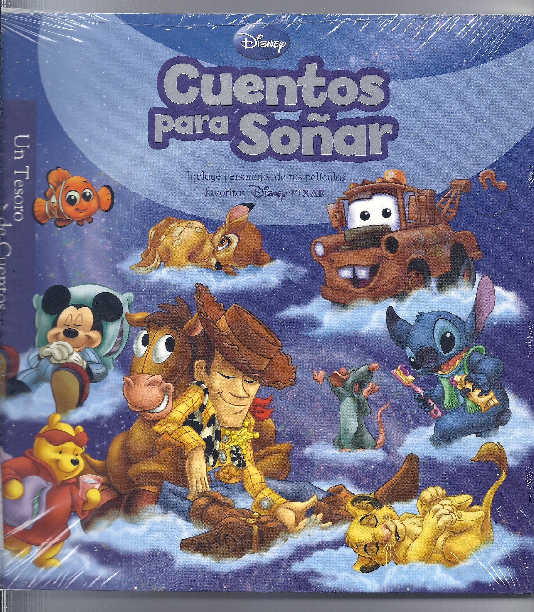 Disney Cuentos Para Sonar / Disney Bedtime Stories (Un Tesoro de Cuentos / Storybook Collection)