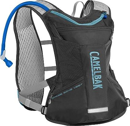 CamelBak Womens Chase Bike Vest 50oz, Charcoal/Lake Blue, One Size