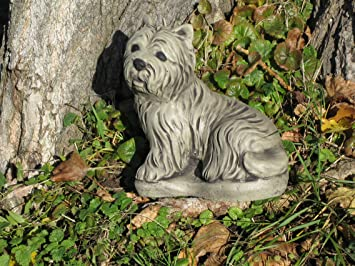 Westi Dog West Highland Terrier Stone Garden Ornament    See My Full  Shopfront With Over
