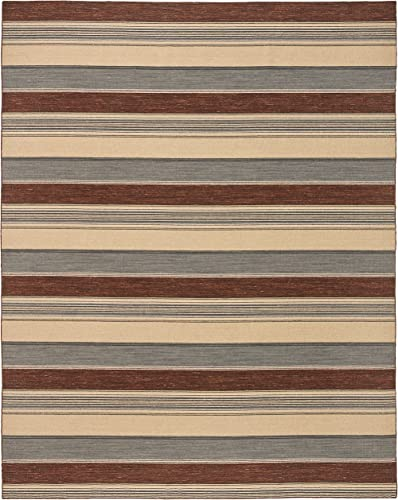 Amazon Brand Stone Beam Modern Striped Area Rug
