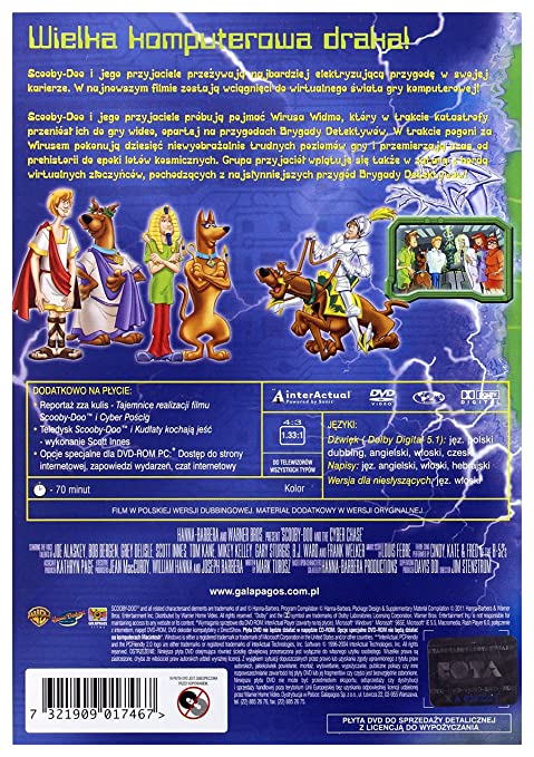 Amazon com: Scooby-Doo and the Cyber Chase [DVD] (English