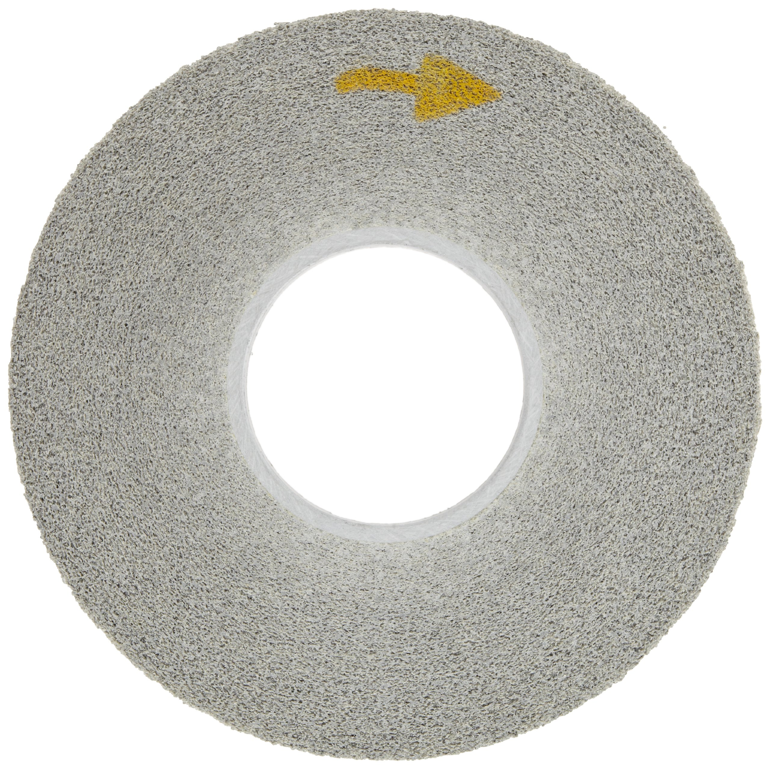 Scotch-Brite(TM) EXL Deburring Wheel, Aluminum Oxide, 3000 rpm, 12 Diameter x 1 Width, 5 Arbor, 8A Medium Grit (Pack of 1) by Cubitron