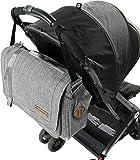 Columbia Vista Hills Messenger Diaper Bag, Grey