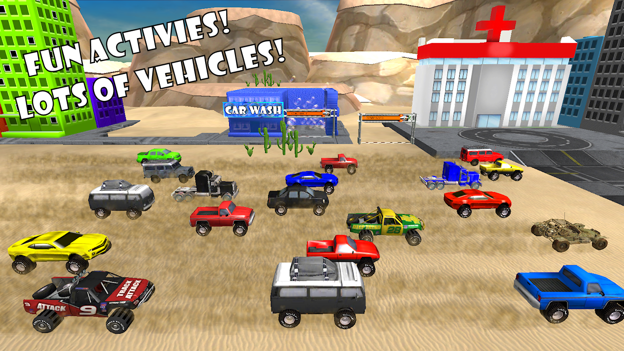 amazoncom pickup truck race offroad 3d toy car game for toddlers and kids with racing contests 4wd 4x4 action appstore for android