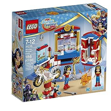 Amazon.com: LEGO DC Super Hero Girls Wonder Woman Dorm 41235 DC ...