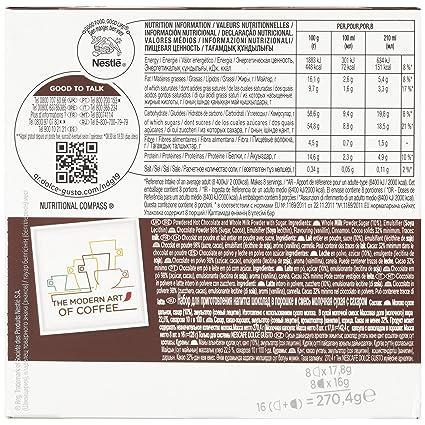 Nescafé Dolce Gusto - Chococino - 3 Paquetes de 16 Cápsulas - Total: 48 Cápsulas: Amazon.es: Alimentación y bebidas