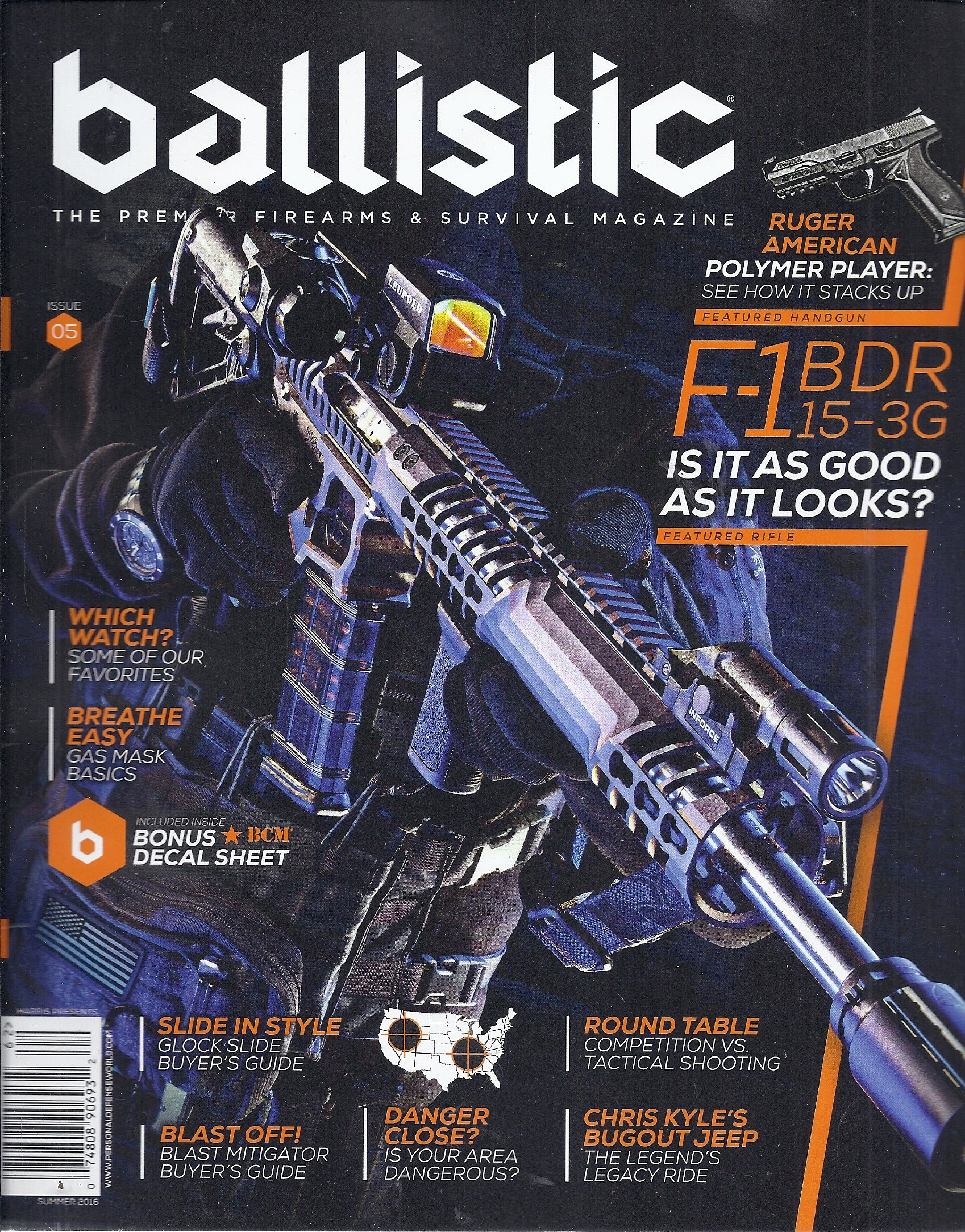 Harris Presents Ballistic Magazine (Summer 2016 - Cover: F-1 BDR 15-3G pdf epub