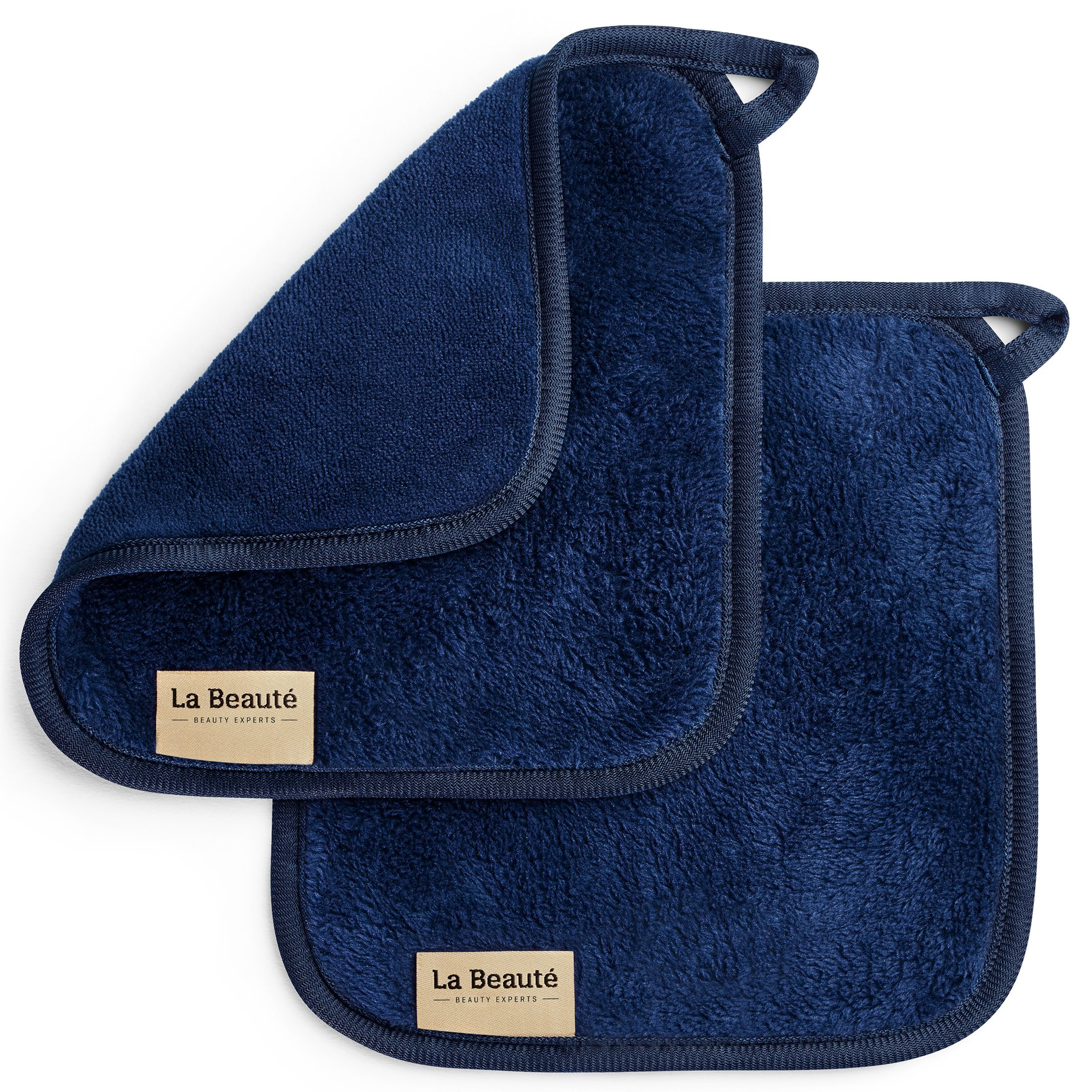 Toallitas desmaquillantes reutilizables La Beauté – Toallas para cara ecológicas y lavables – Toalla de microfibra