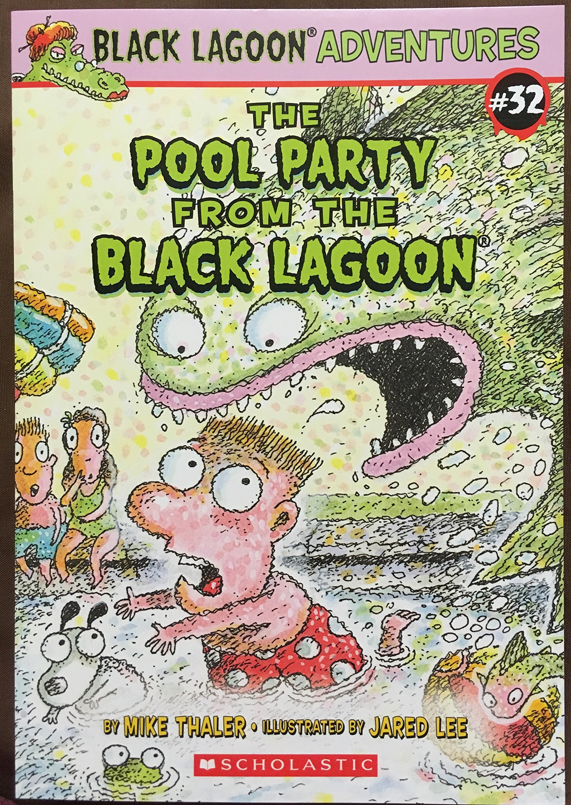 The Pool Party From The Black Lagoon: Mike Thaler: 9780545850735:  Amazon.com: Books