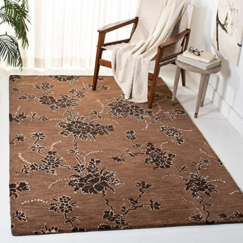 Safavieh Soho Collection Handmade Brown Premium Wool Area Rug 8 3 x 11