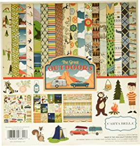 Carta Bella Paper Company The Outdoors Collection Kit