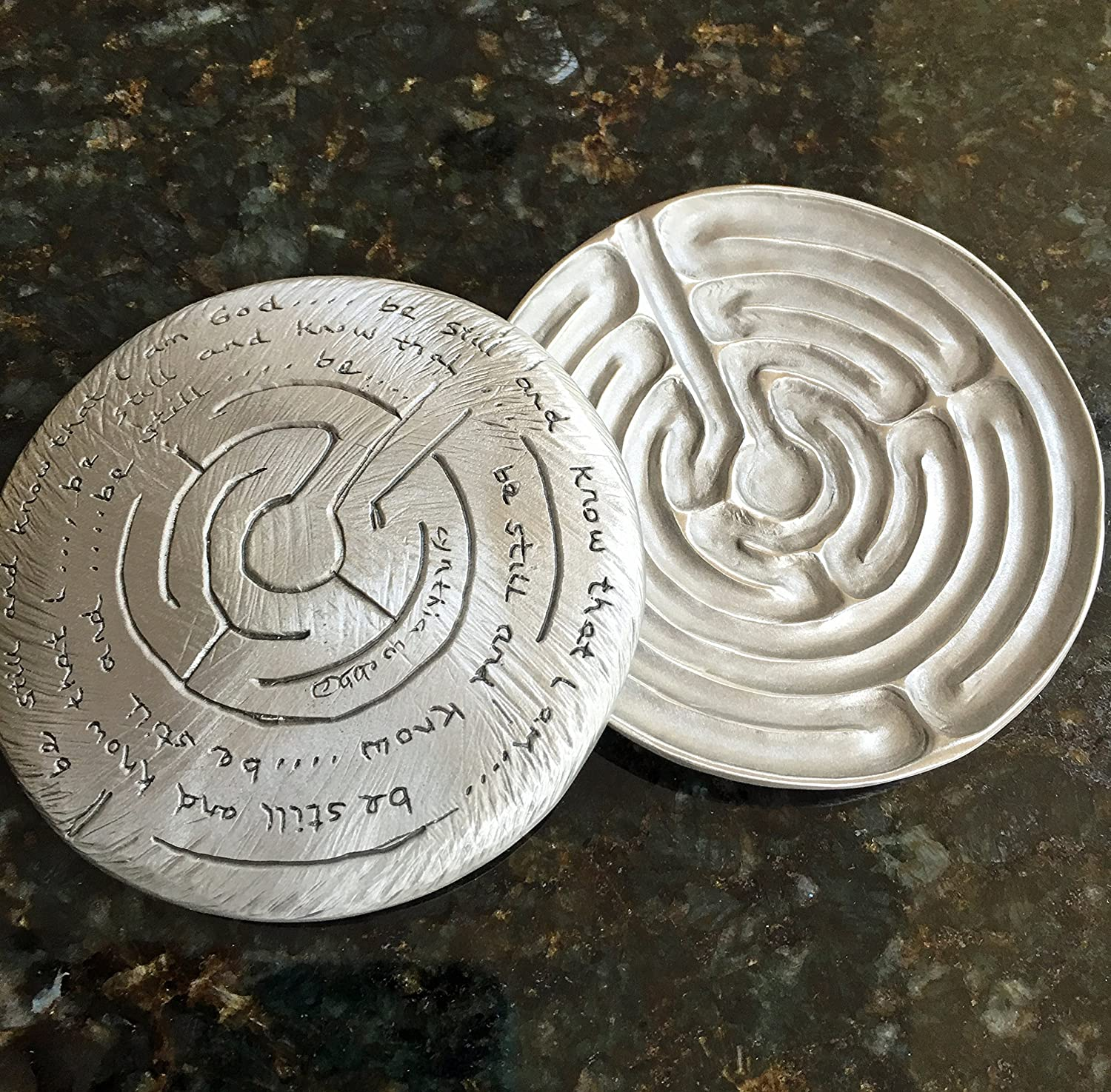 Labyrinth Dish By Cynthia Webb