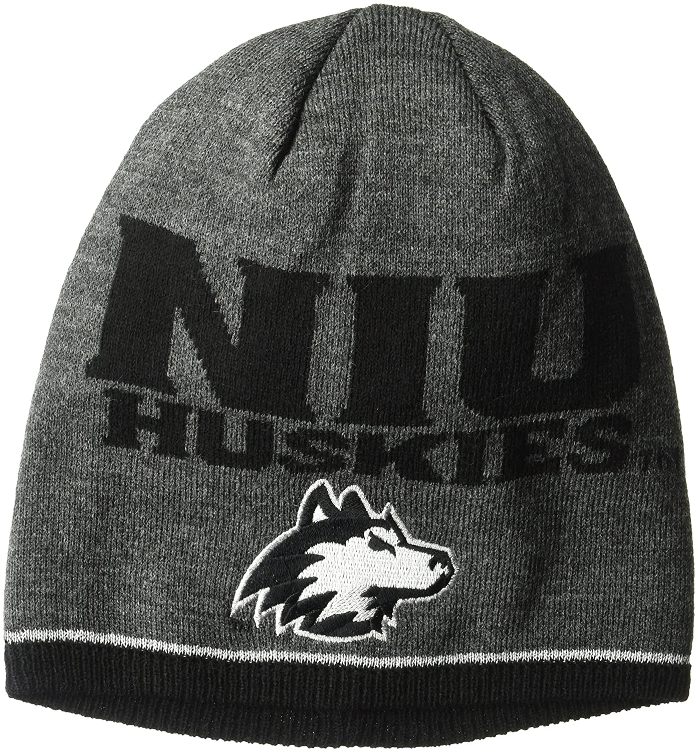 NCAA Playerビーニー B073WV6JQB One Size|グレー|Northern Illinois Huskies グレー One Size