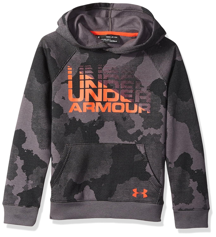 Under Armour Boys Rival Wordmark Hoodie