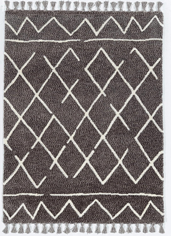 Linon Home Décor Rug, Grey