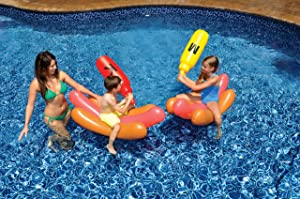Swimline Hotdog Battle Pool Float