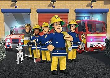Feuerwehrmann Sam Tapete Aufkleber Kids Schlafzimmer Jungen Mdchen Art Wand Wandbild Tapete Gr