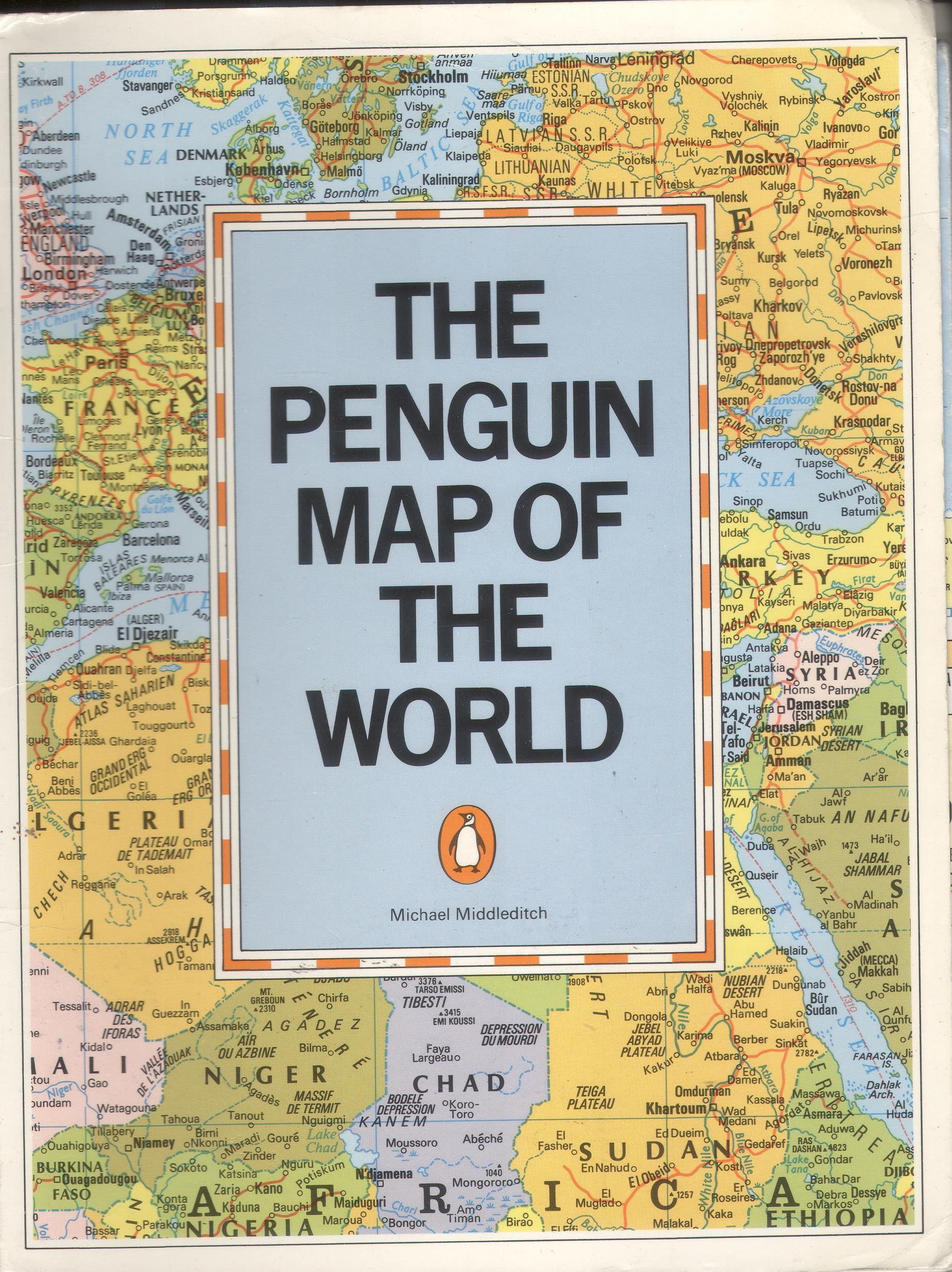 Penguin Map Of The World.Buy The Penguin Map Of The World Book Online At Low Prices In India