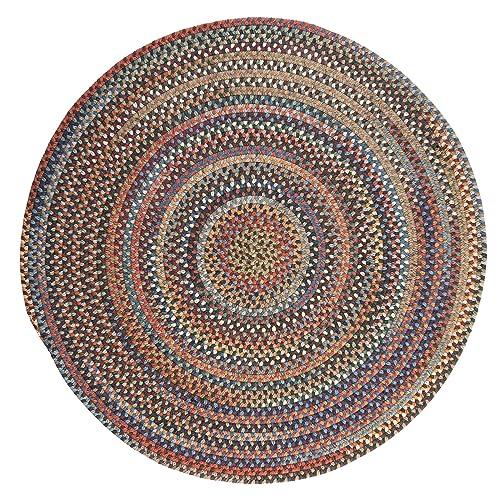 Round Braided Rug Amazon Com