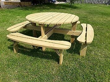 Amazonde Naturholz Shop Holz Gartengarnitur Gartenmöbel Garnitur