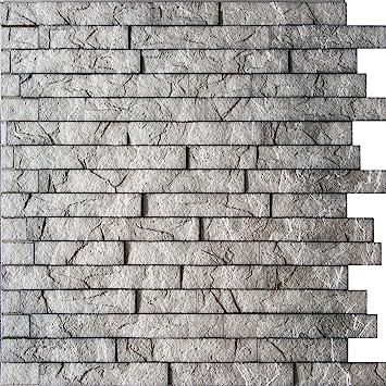 Amazon.com: Ledge Stone 3D Wall Panels - Interior Design Wall ...