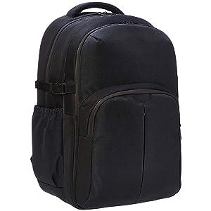 "AmazonBasics Urban Laptop Backpack, 15"", Black"