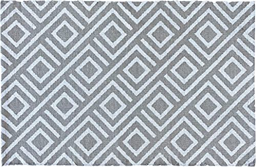 The Mandola Twins Indoor Outdoor Cotton Rug Doormat Accessory Geometric