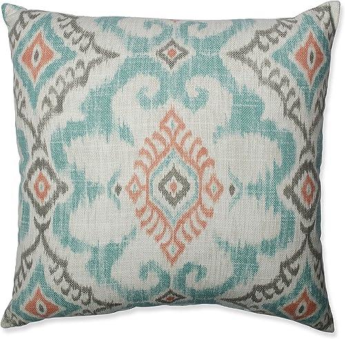 Pillow Perfect Kantha Surf 18-Inch Throw Pillow,Green