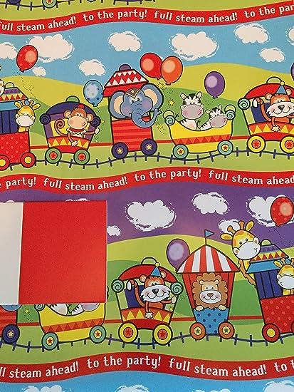 Para niños Zoo animales tren Full Steam Ahead a la fiesta ...