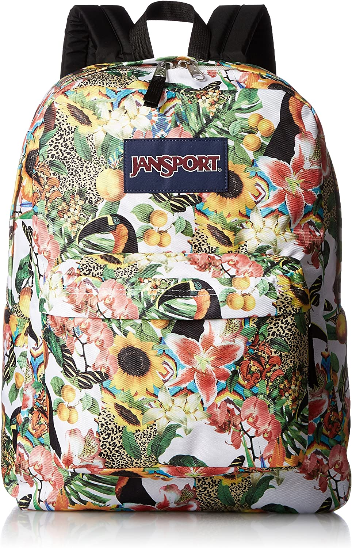 JanSport Unisex SuperBreak Multi Jungle Jam Backpack