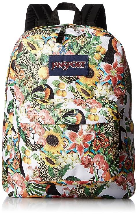 Amazon.com  JanSport Unisex SuperBreak Multi Jungle Jam Backpack ... 8248319baf28b