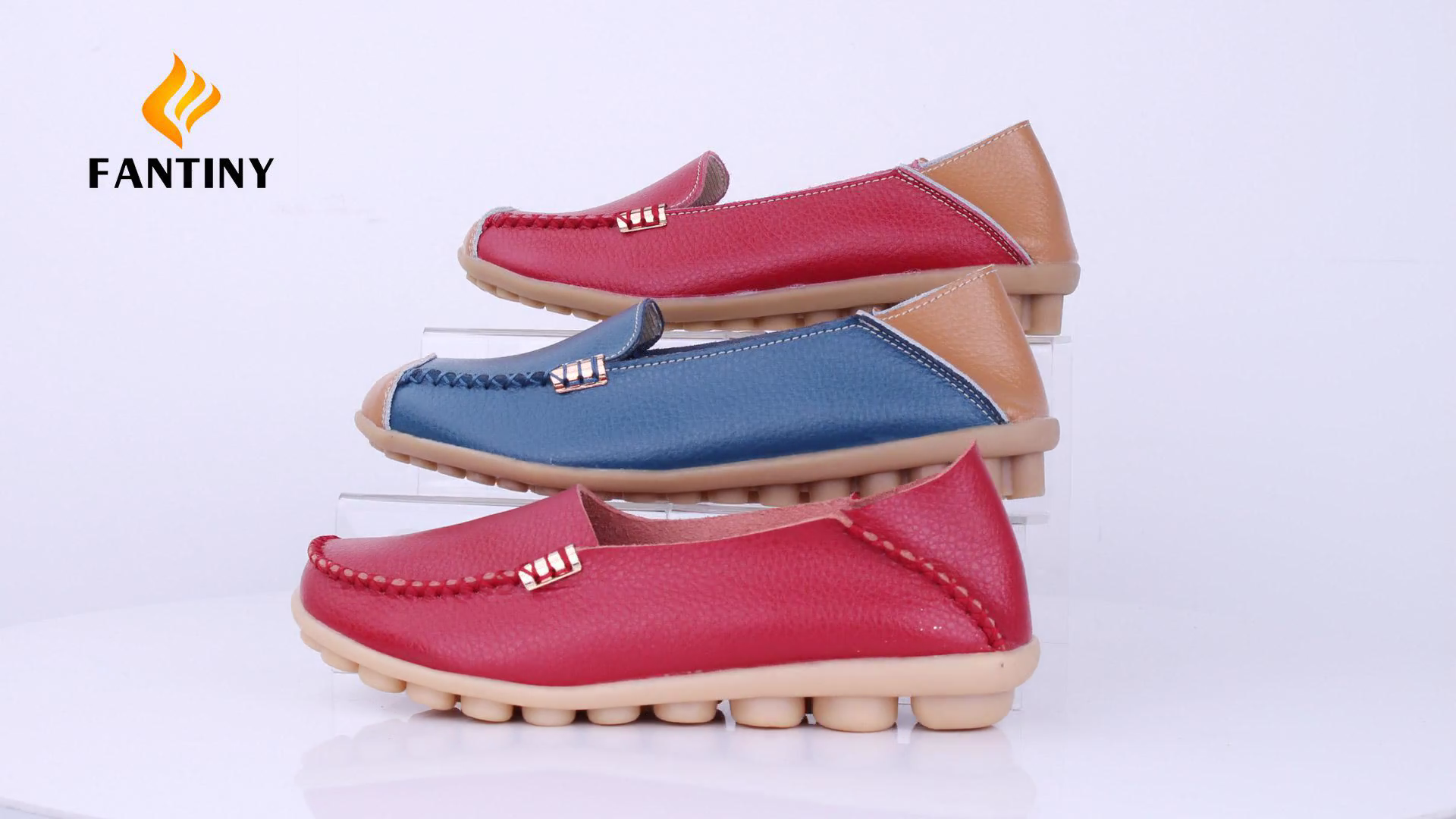 f3c53262ad02 CIOR Women s Genuine Leather Loafers Casual Moccasin Driving ...